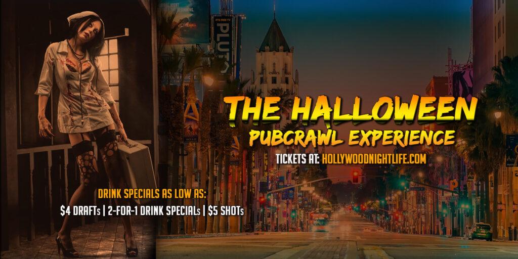 Hollywood Halloween Pub Crawl - Saturday