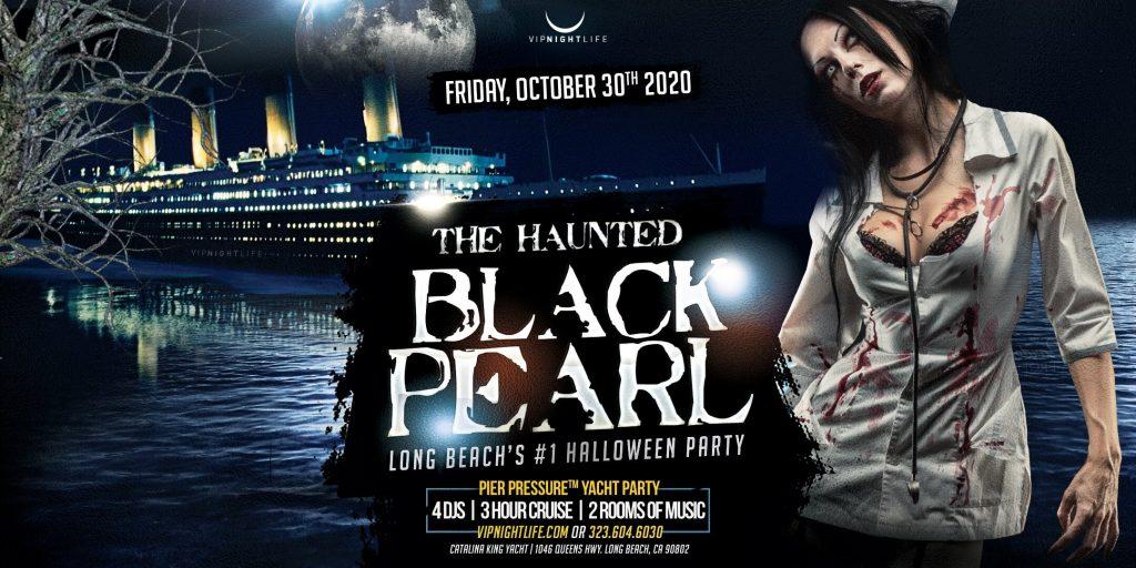 Pier Pressure Long Beach Halloween Cruise - Black Pearl