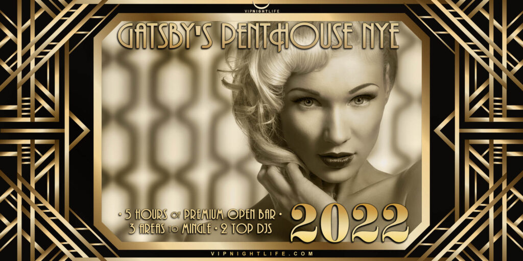 Los Angeles New Year's Eve Party 2022 - Gatsby's Penthouse